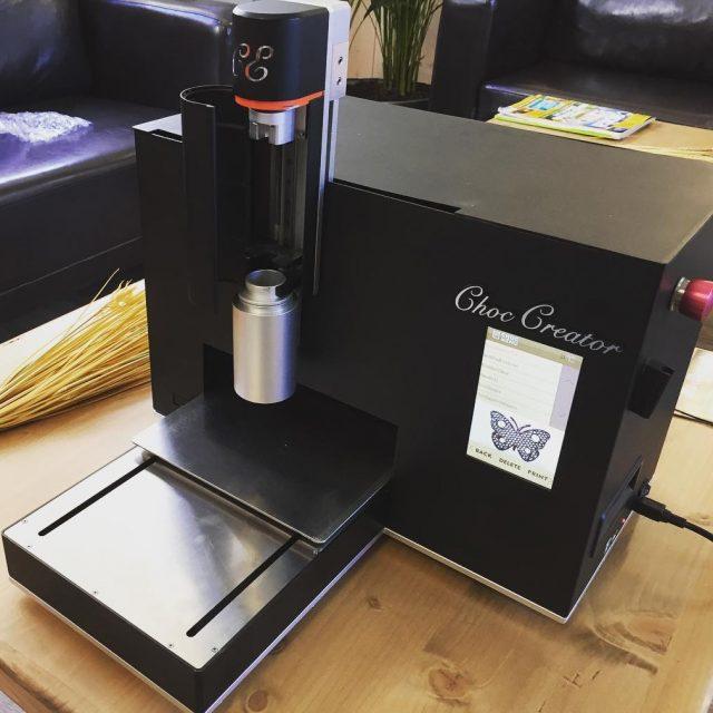Dcouverte de limprimante 3D chocolat lameunerie coworking arles imprimante3d technologiehellip