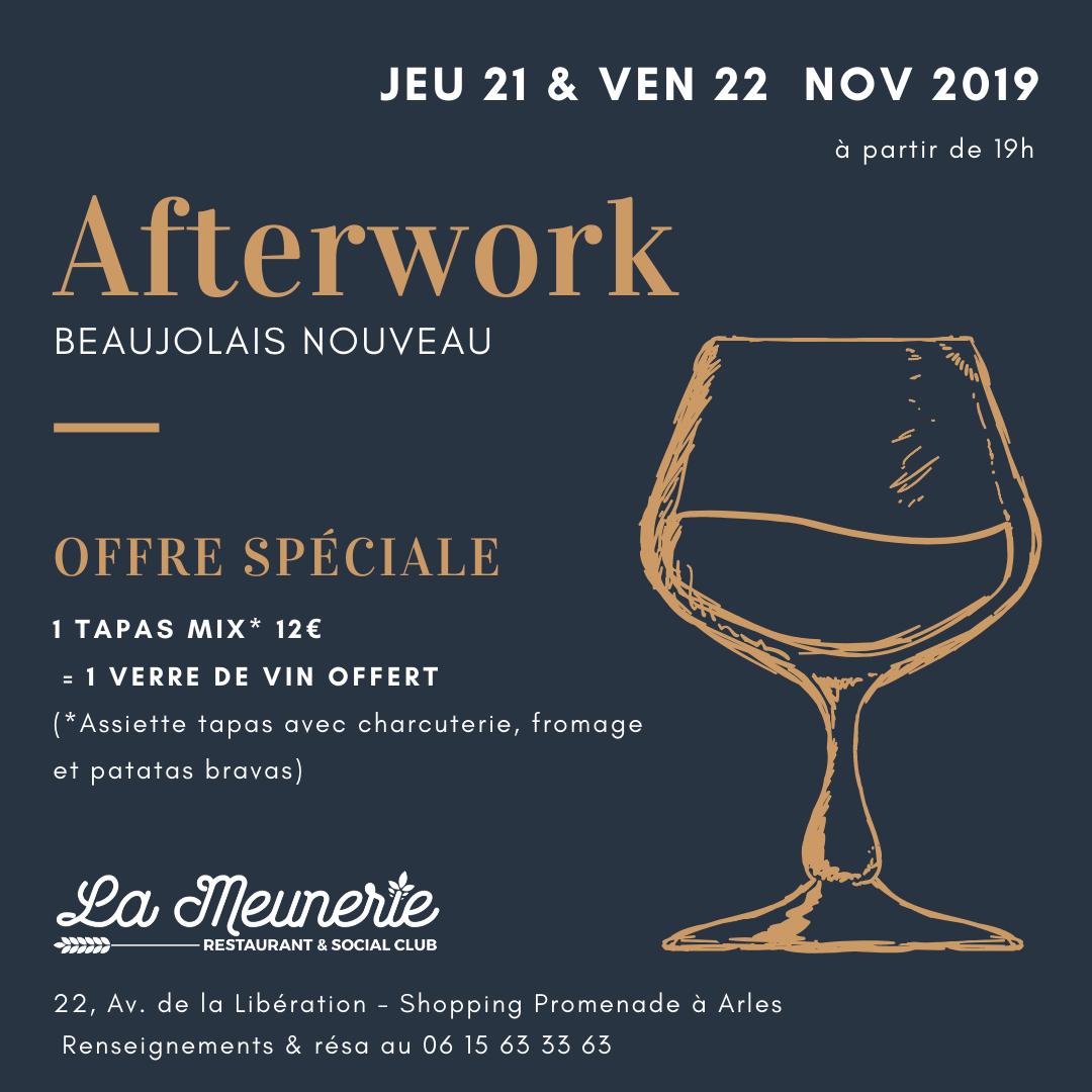 afterwork beaujolais nouveau arles