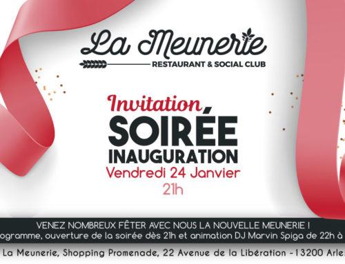 Inauguration de La Meunerie !