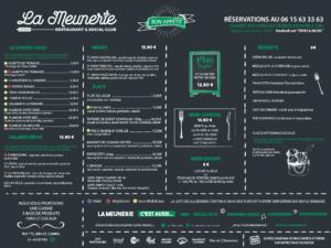 carte La Meunerie Restaurant Arles