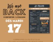 réouverture restaurant La Meunerie Arles