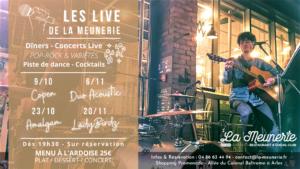 les live de la meunerie arles concerts restaurants